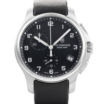 Victorinox Swiss Army Classic Officers Mens Stainless Steel...