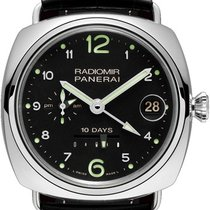 Panerai Special Editions Radiomir 10 Days GMT Oro Bianco PAM00496