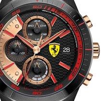 Scuderia Ferrari 0830305 Red Red Evo Chronograph Herren 46mm 5ATM