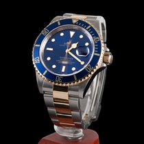Rolex Submariner date Steel and Gold Blue Dial