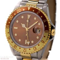 Rolex GMT Master II Tiger Age Ref-16713 18k Yellow Gold/Stainl...