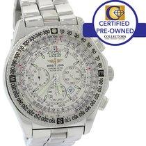Breitling B-2 Chronograph A42362 Compass Pilot 43mm Flight Watch