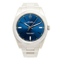 Rolex Oyster Perpetual Stainless Steel Blue Automatic 114300BL_O