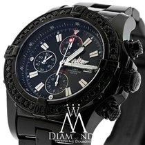 Breitling Black Pvd Breitling Super Avenger A13370 Watch...