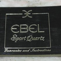 Ebel vintage warranty booklet papers sport quartz models