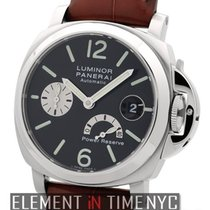 Panerai Luminor Collection Stainless Steel Date Power Reserve...