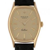 Rolex Cellini Gelbgold Handaufzug 32x23mm Ref.3803 Vintage...