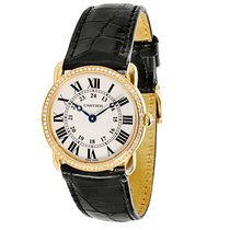 Cartier Ronde Louis 18K Rose Gold & Diamond