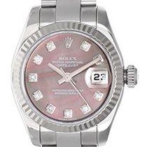 Rolex Ladies Rolex President 18k White Gold Watch 179179...