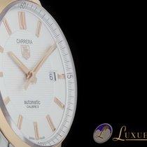 TAG Heuer Carrera Calibre 5 | Edelstahl/18kt Rosegold Mens...