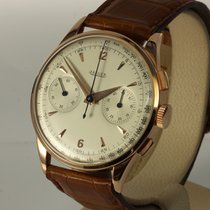 Jaeger-LeCoultre bildschöner Vintage Chronograph 18K Roségold,...