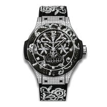 Hublot Big Bang Broderie 41mm Automatic Stainless Steel Set...