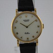 Rolex Cellini 5109 18k Gold TOP Zustand, Box, Papiere