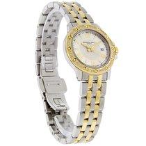 Raymond Weil Tango Diamond Ladies Two Tone Swiss Watch...