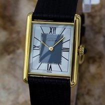 Cartier Must De Cartier Unisex 30mm Solid 925 Silver Gold...