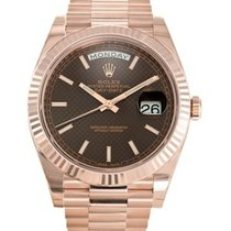 Rolex 228235 Oyster Perpetual Day-Date 40m/18K Everose Gold Watch