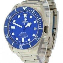 Tudor Pelagos Chronometer Blue Dial Titanium Extra Strap Auto...