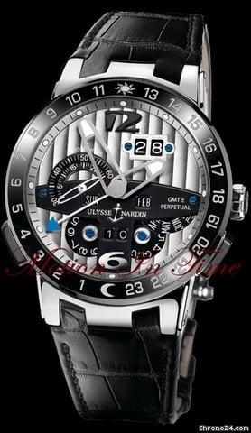 Ulysse Nardin &amp;#34;EL TORO&amp;#34; GMT  PERPETUAL CALENDAR PLATINUM LIMITED 500 PCS