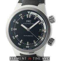 IWC Aquatimer Collection Aquatimer Stainless Steel 42mm Black...