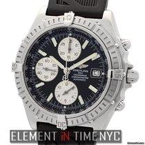 Breitling Windrider Crosswind Racing Chronograph Black Dial...