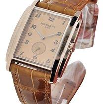 Patek Philippe 5124G 5124 Gondolo - White Gold on Strap with...