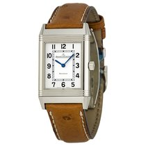 Jaeger-LeCoultre [NEW] Q2518411 Reverso Silver Dial Brown...