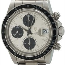 "Tudor SS OysterDate Chronograph ""Big Block"" Box &..."