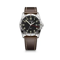 Victorinox Swiss Army Infantry GMT dark grey dial, leather...