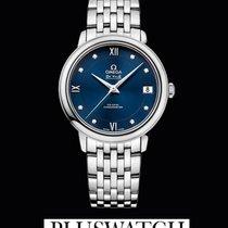 Omega De Ville Prestige Co-Axial Blue Dial Diamonds T