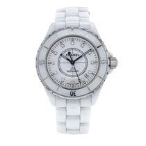 Chanel J12 White Ceramic Automatic White Diamond Dial Unisex...
