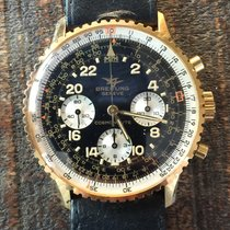 Breitling 18K Gold/Steel Navitimer Cosmonaute