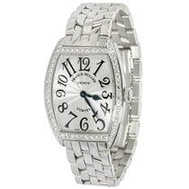 Franck Muller Curvex 7502 QZDP Unisex Watch in Stainless Steel...