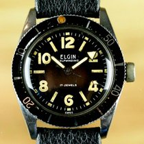Elgin Vintage Canteen Diver Watch