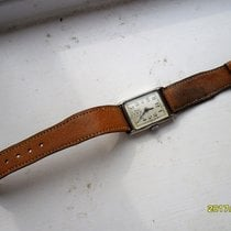 "A.S. VINTAGE 1930 Swiss ""A.S."" Military Watch Hinged..."