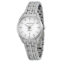 Hamilton Lady Auto Mother of Pearl Dial Stainless Steel Ladies...
