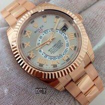 勞力士 (Rolex) Sky Dweller Sundust Dial 18kt  Rose Gold Watch...