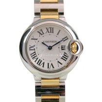 Ballon Bleu de Cartier Ladies 18k Yellow Gold 28mm Stainless...