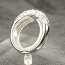 Hand Made 18kt White Gold Ring With Diamonds 0,75ct