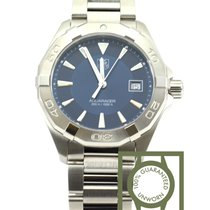 TAG Heuer Aquaracer 300m Quartz steel 40,5mm blue dial NEW