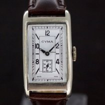 Cyma White Dial Swiss Made ref.335 von 1930