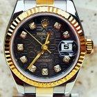 Rolex datejust 18k.SS 179173