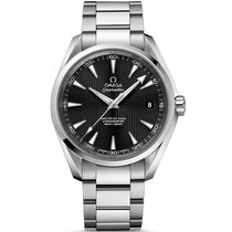 Omega Seamaster Steel Black Dial 231.10.42.21.01.003 Mens watch