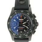 Breitling Skyracer Raven Chronograph PVD Stainless Steel