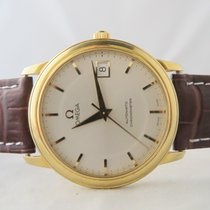 Omega De Ville  Prestige 18k Yellow Gold (With Papers)