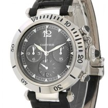 Cartier Pasha Chrono Millenium W3105155 Limited Edition Steel...