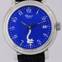 Chopard Godolphin Geneve Quarz Edelstahl royal blue date...