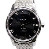 Omega Deville Stainless Steel Black Automatic 431.10.41.21.01.001
