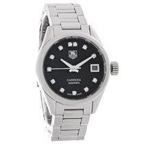 TAG Heuer Carrera Diamond Ladies Swiss Quartz Watch WAR2413.BA...