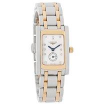 Longines Dolce Vita Ladies 18k Diamond MOP Quartz Watch...