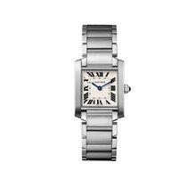 Cartier Tank Francaise Quartz Mid-Size Watch Ref WSTA0005